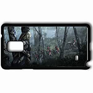 Personalized Samsung Note 4 Cell phone Case/Cover Skin Assasins Killer Black