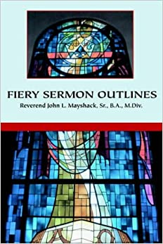 Book Fiery Sermon Outlines