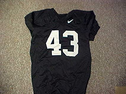 Image Unavailable. Image not available for. Color  Black Nike Jersey  43  University of Alabama Football ee548be26