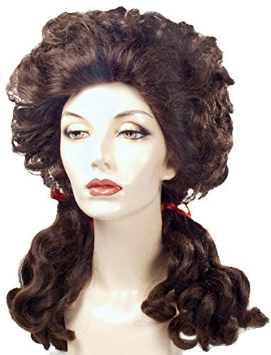 Lacey Wigs Farm Girl White Costume Wig -