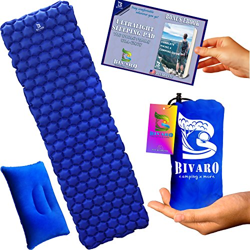 BIVARO Ultralight Sleeping Pad Backpacking -Travel...