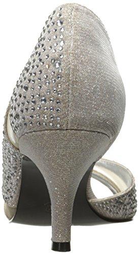 Caparros Womens Zofia Open Toe D-Orsay Pumps Nude Glimmer 5jgQFFY8qB