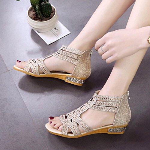 Bekleidung Lisa Damen SANFASHION SANFASHION 144155 Schuhe de Beige3 Romana Piel Mujer qC1dd