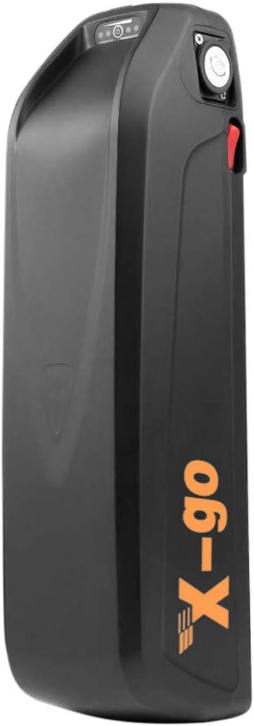 X-go Bateria para Bicicleta Electrica 48V 13AH Bateria Bici Electrica 48V Adecuado para Motor De 1000W con Cargador de 54V(Descarga): Amazon.es: Deportes y aire libre