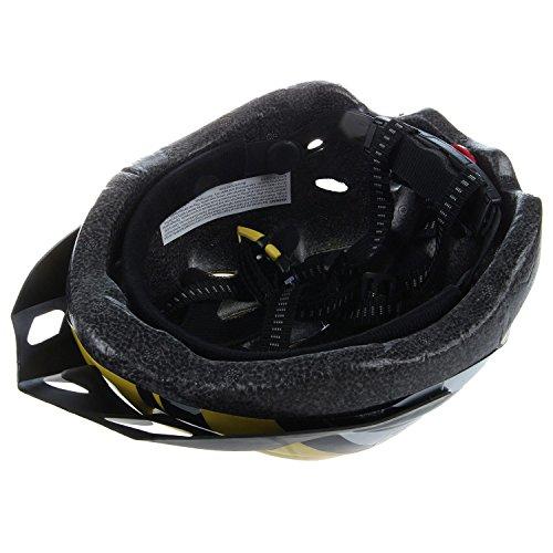 Casco - JSZ casco de bicicleta para los adultos hermoso casco de carbono con visera-amarillo + negro: Amazon.es: Deportes y aire libre