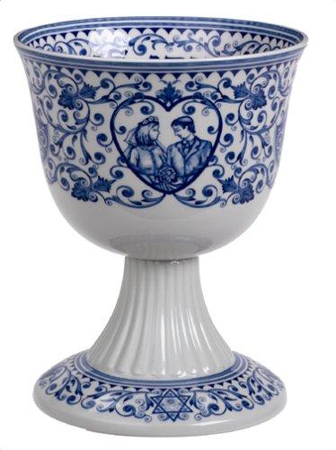 Spode Judaica Wedding Cup - Cameo Vines