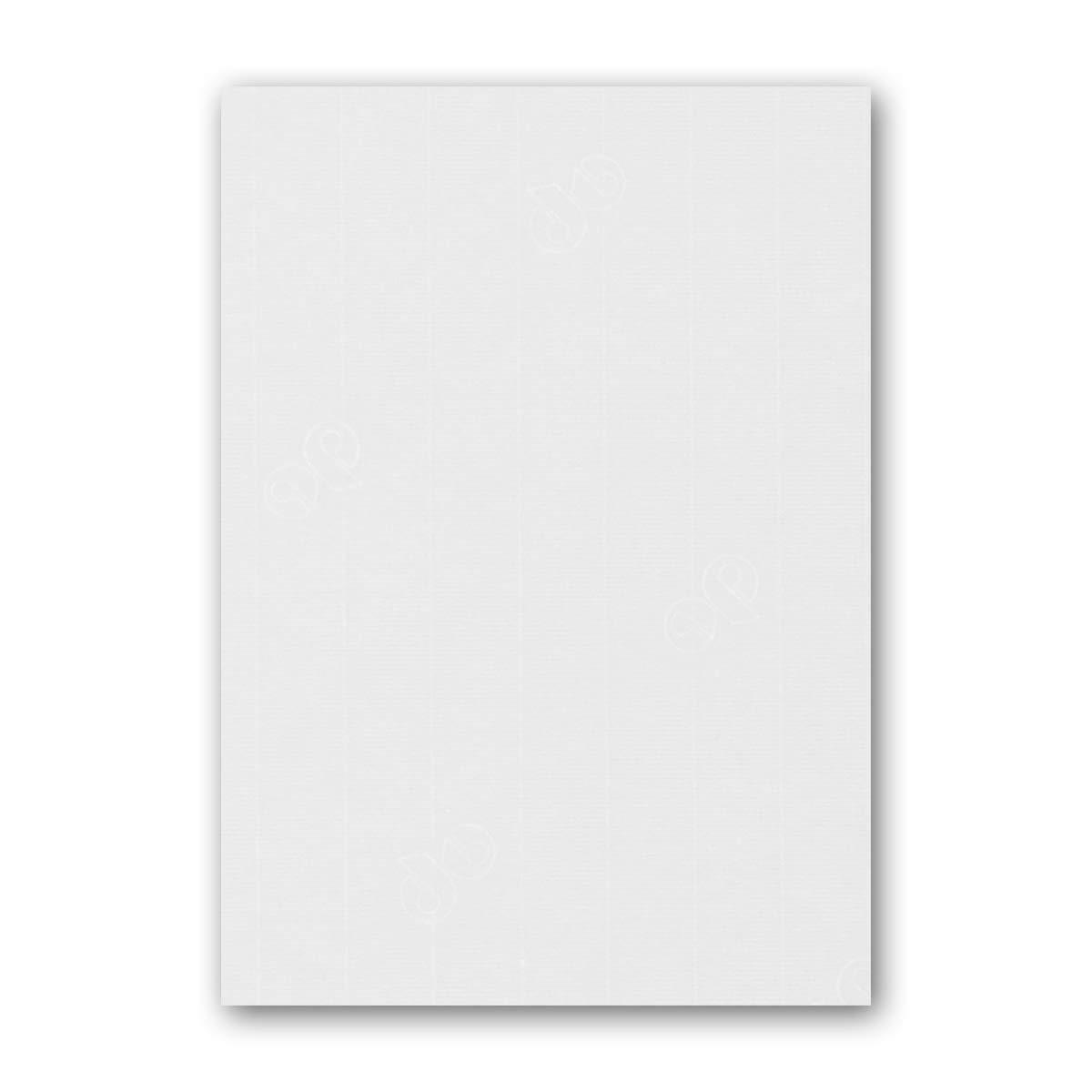 ARTOZ 150x Briefpapier + Bastelpapier Bastelkarton - Taupe - DIN A4 297 x 210 mm – Edle Egoutteur-Rippung – Hochwertiges 220 g m² Tonpapier – Scrapbooking Papier 210 - BlütenWeiß 100 Stück