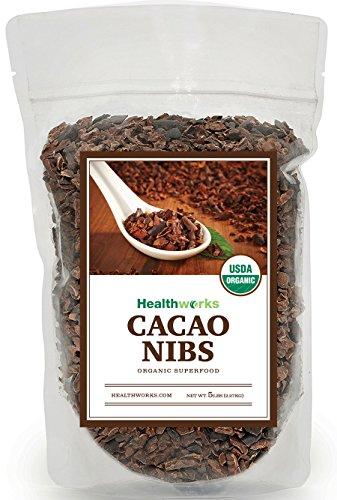 Healthworks Cacao Nibs Organic, 5lb by Healthworks