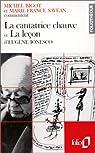 La cantatrice chauve et La leçon d'Eugène Ionesco par Savéan