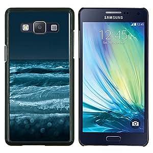 TECHCASE---Cubierta de la caja de protección para la piel dura ** Samsung Galaxy A5 ( A5000 ) 2014 Version ** --Faro Faro de Lonely