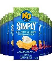 Kraft Dinner Simply Macaroni & Cheese With Cauliflower ,150 g (Pack of 12)