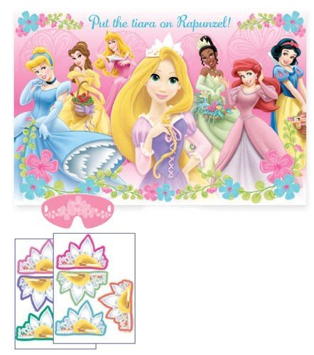 Disney Princess Party Game Poster (1ct) ()