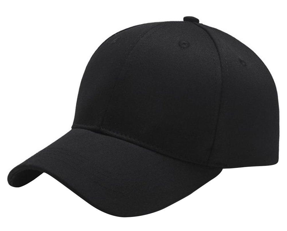BIGBOBA Sports Leisure and Bent Baseball Cap Neutral Sun Hat Canvas Caps 5 Panel