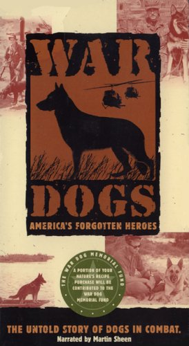 War Dogs: America's Forgotten Heroes [VHS]