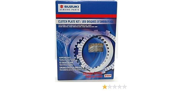 Amazon.com: 08-09 SUZUKI GSXR600: Suzuki Genuine Accessories Clutch Plate Kit: Automotive