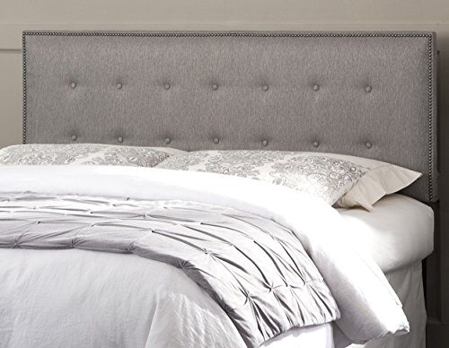 Upholstered Headboard Adjustable Button Tufted California product image