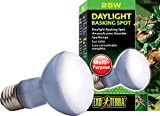 heat lamp 25 watt - Exo Terra Sun Glo Basking Spot Lamp, 25-Watt