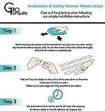 GoTranquility Anti Slip Safety Bathtub Stickers