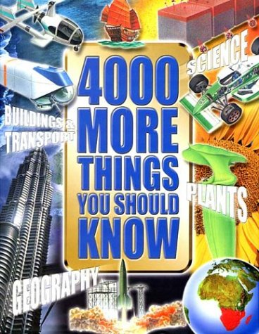 Download 4000 More Things You Should Know pdf epub