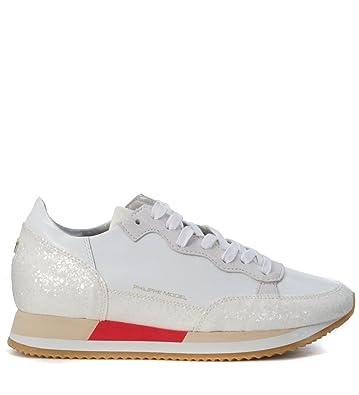 Philippe model Bright sneaker in pearled rubber leather women's in Discounts Online L4EIq