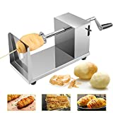 Uten Potato Twister Spiral Potato cutter Stainless Steel Slicer Machine For Fruit, Potatoes, Tornado Chips, Cucumber or Carrots