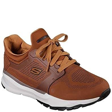 Skechers Mens 65395 Areno Brown Size: 8.5