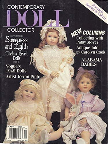 Doll Magazine Collector - Contemporary Doll Collector Magazine (December/January 1999 - Alabama Babies)