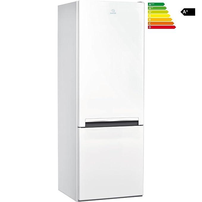 Indesit nevera Combi LI6 S1 W – f093394 Frigorífico con congelador ...