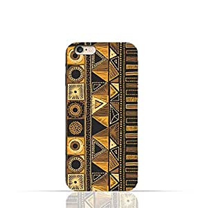 Apple iPhone 6 Plus/6 Plus s TPU Silicone Case with Figure Tribal Embroidery Pattern