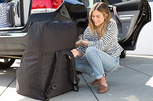 Large Product Image of J.L. Childress Ultimate Backpack Padded Car Seat Travel Bag, Black