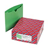 Smead : File Jackets w/Reinforced Double-Ply Tab, Letter, 11 Pt. Stock, Green, 100/Bx -:- Sold as 2 Packs of - 100 - / - Total of 200 Each