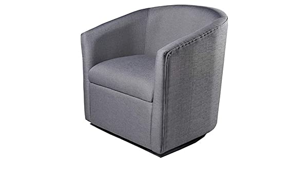Amazon.com: Hebel Madge Barrel Back Swivel Accent Chair | Model CCNTCHR - 166 |: Kitchen & Dining