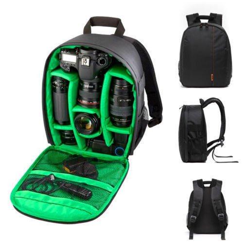 Nikon Digital Microscope (Waterproof DSLR Camera Backpack Shoulder Bag Case For Canon For Nikon For Sony)