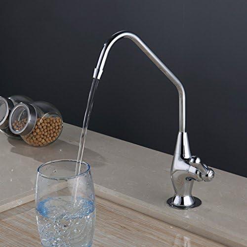 現代ミニマル純粋な銅シングル冷水純水蛇口の野菜の流域のキッチンシンクの蛇口は回転することができます ( サイズ さいず : C )