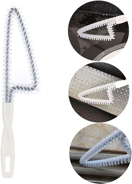 Ronshin - Cepillo de limpieza de ventanas para puertas correderas, herramienta de limpieza de huecos, cerdas rígidas de 360 grados, producto de oficina: Amazon.es: Oficina y papelería