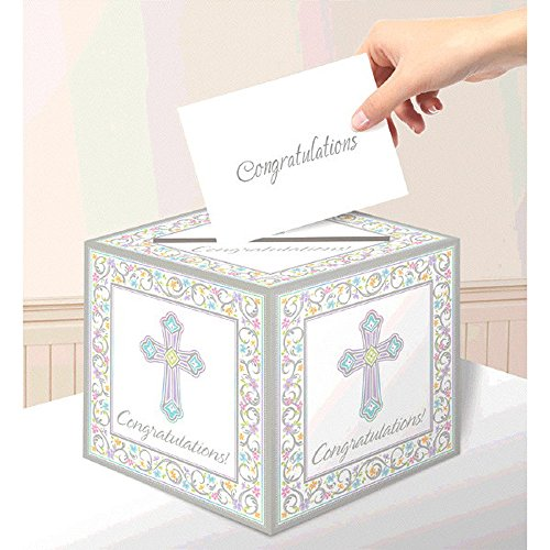 Blessed Day Party Supplies (Blessed Day Card Box Holder) -