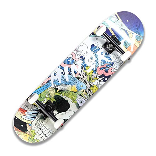 MINORITY 32inch Maple Skateboard (UkiyoeBL)