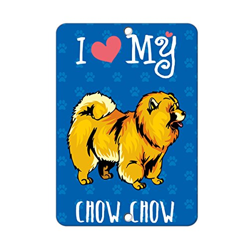 i-love-my-chow-chow-dog-metal-sign-8-in-x-12-in