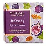 Mistral Seasonal Collection 7 oz Square Bar Soap Bordeaux Fig Scent