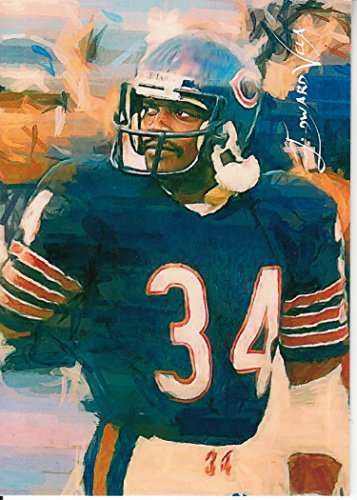 Walter Payton #7- #19/25 - VERY RARE - Chicago Bears - SUPER BOWL CHAMPION -