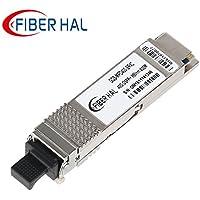 FiberHal for Cisco QSFP-40G-SR4, 40Gb/s QSFP+ Transceiver Module, 850nm, 100-meter
