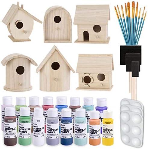 Birdhouse Craft Bundle Unfinished Birdhouses product image