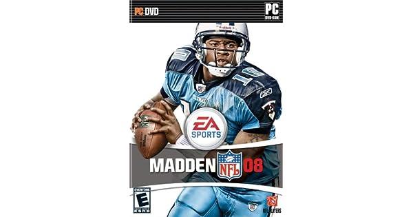 Amazon com: Madden NFL 08 DVD - PC: Video Games
