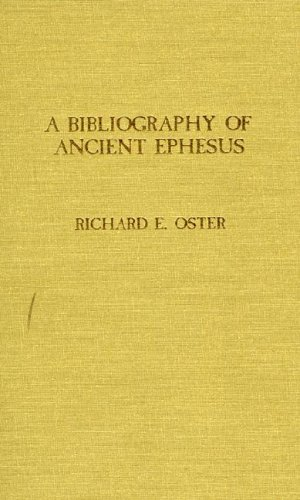 Bibliography of Ancient Ephesus