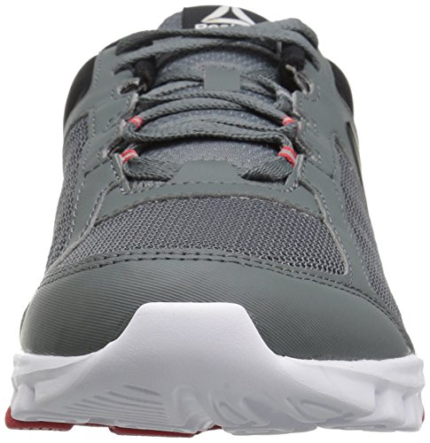 Reebok Hombres Yourflex Train 9.0 Mt Running Zapato De Aleación / Primal Red / Black / White