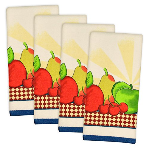 DII, 100% Cotton, Kitchen Dishtowel, Ultra Absorbant 15x26