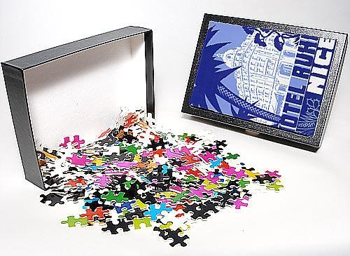 Photo Jigsaw Puzzle of Hotel Ruhl luggage label