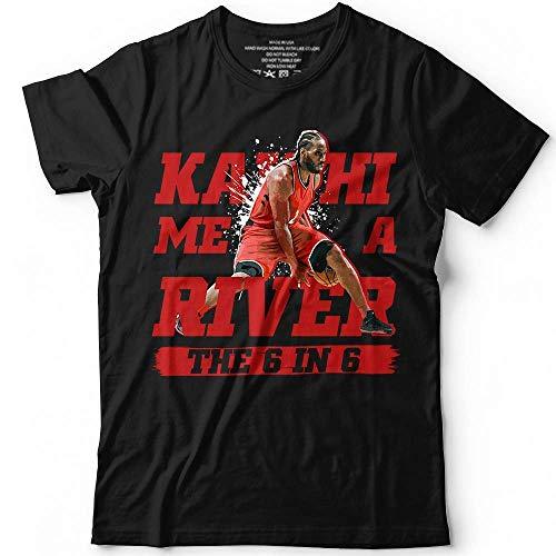 Kawhi Me A River The 6 In 6 Shirt Basketball Portrait Jersey Toronto Customized Handmade T-Shirt Hoodie/Long Sleeve/Tank ()