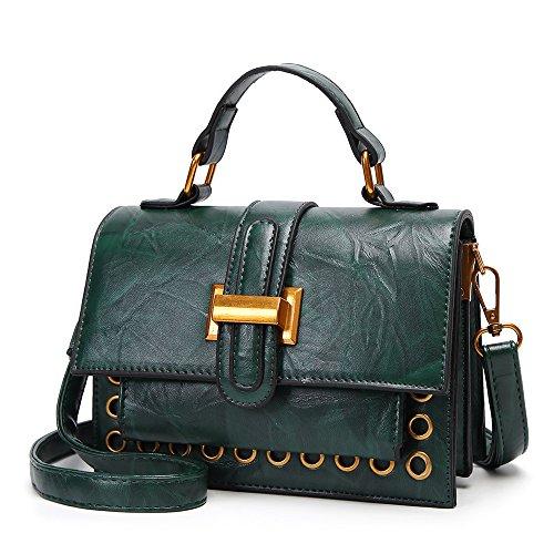 IMBETTUY mujer bolsos bandolera bolsos de mano bolsos totes shoppers y bolsos de hombre molsos para mujer Verde