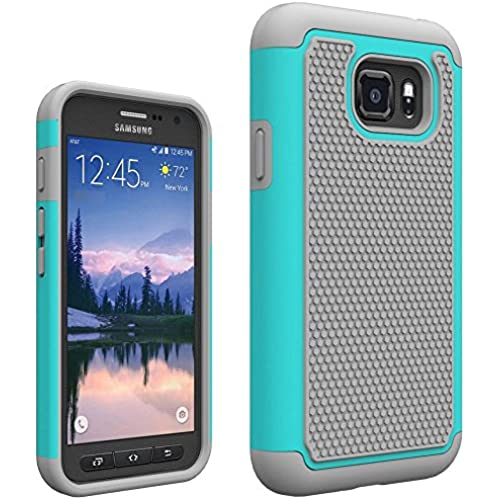 Galaxy S7 Active Case, Asmart Hybrid Dual Layer Armor Protective Case Cover for Samsung Galaxy S7 Active G891 (Mint) Sales